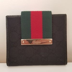 Gucci Black Bifold Wallet
